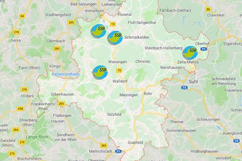 SSR Stadtreinigung Schmalkalden Standorte