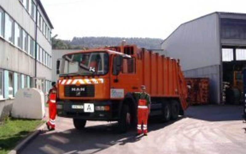 Stadtreinigung Schmalkalden SSR Saug- und Spuelfahrzeug